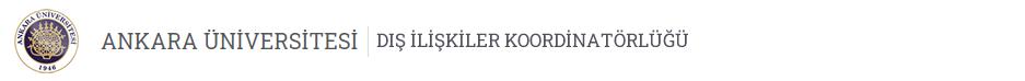 Dış İlişkiler Koordinatörlüğü Logo
